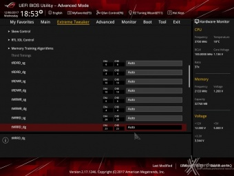 ASUS ROG MAXIMUS X FORMULA 8. UEFI BIOS - Extreme Tweaker 17