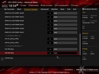 ASUS ROG MAXIMUS X FORMULA 8. UEFI BIOS - Extreme Tweaker 19
