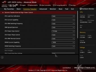 ASUS ROG MAXIMUS X FORMULA 8. UEFI BIOS - Extreme Tweaker 9