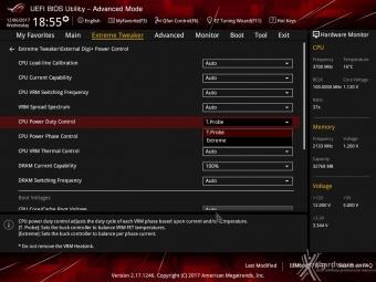 ASUS ROG MAXIMUS X FORMULA 8. UEFI BIOS - Extreme Tweaker 11