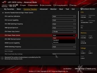 ASUS ROG MAXIMUS X FORMULA 8. UEFI BIOS - Extreme Tweaker 12