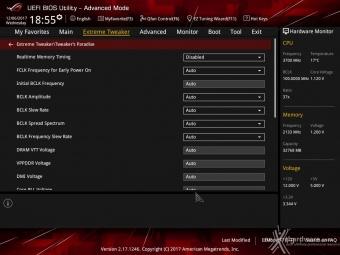 ASUS ROG MAXIMUS X FORMULA 8. UEFI BIOS - Extreme Tweaker 13
