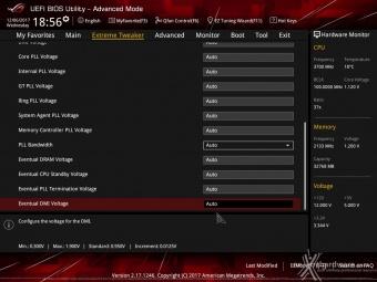 ASUS ROG MAXIMUS X FORMULA 8. UEFI BIOS - Extreme Tweaker 14