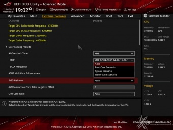 ASUS ROG MAXIMUS X FORMULA 8. UEFI BIOS - Extreme Tweaker 5