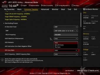 ASUS ROG MAXIMUS X FORMULA 8. UEFI BIOS - Extreme Tweaker 6
