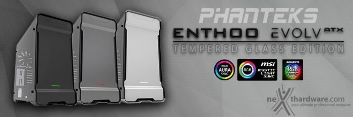 Phanteks Enthoo EVOLV ATX Tempered Glass 1