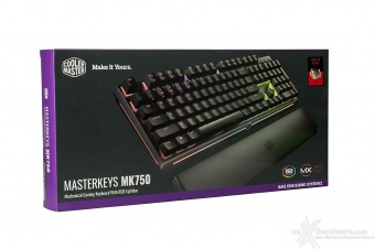 Cooler Master MasterKeys MK750 & MasterMouse MM530 1. Unboxing 2
