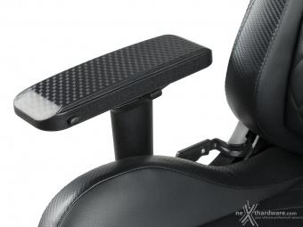 CORSAIR T1 RACE 3. Regolazioni ed ergonomia 10