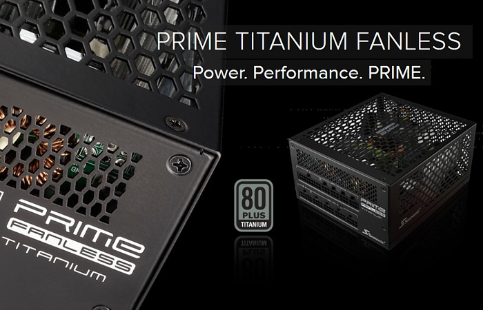 Seasonic PRIME 600 Titanium Fanless 1