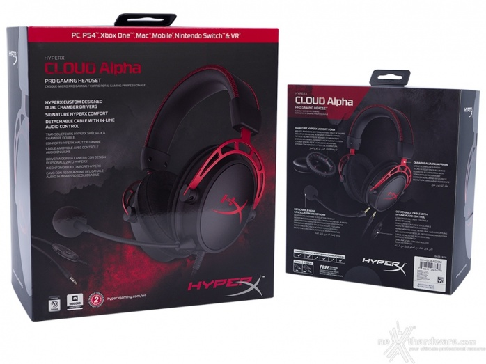 HyperX Cloud Alpha 1. Unboxing 1