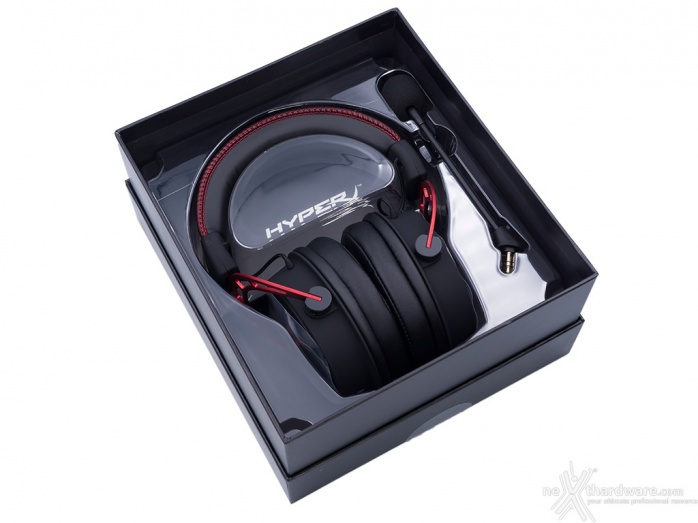 HyperX Cloud Alpha 1. Unboxing 3