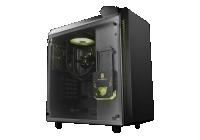 Illuminazione RGB e sistema a liquido AiO di serie sul nuovo case compatto della divisione gaming di DEEPCOOL.