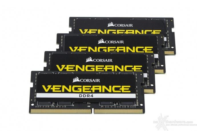 CORSAIR VENGEANCE SODIMM DDR4 3000MHz 64GB 3. Specifiche tecniche e SPD 1