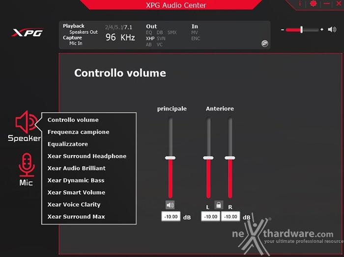 XPG EMIX H30 & SOLOX F30 5. XPG 7.1 Gaming Surround Sound Software 2
