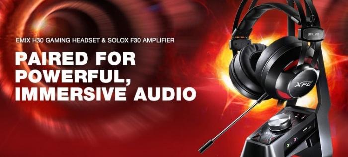 XPG EMIX H30 & SOLOX F30 1