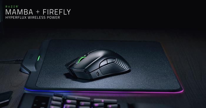 Razer Mamba + Firefly HyperFlux 1