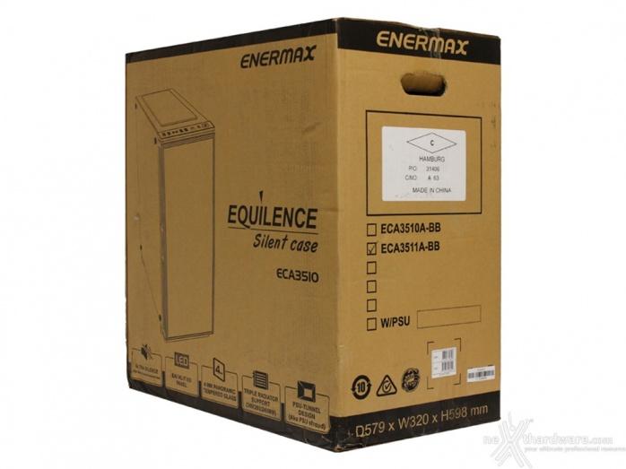 ENERMAX Equilence 1. Packaging & Bundle 2