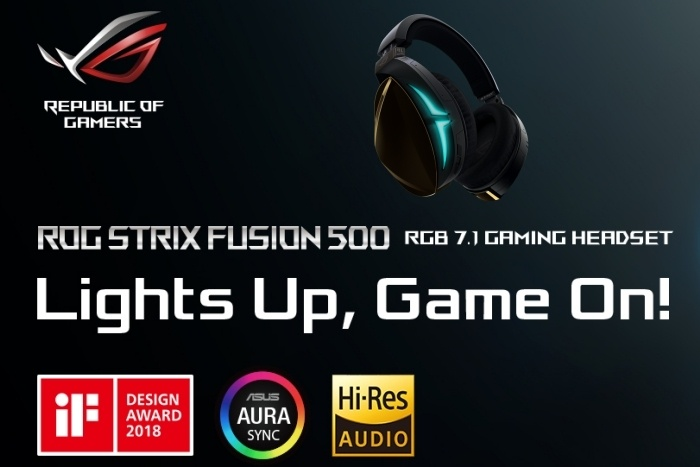 ASUS ROG STRIX Fusion 500 1