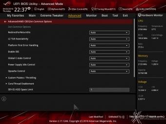 ASUS ROG CROSSHAIR VII HERO (Wi-Fi) 8. UEFI BIOS - Impostazioni generali 11