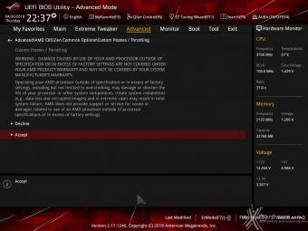 ASUS ROG CROSSHAIR VII HERO (Wi-Fi) 8. UEFI BIOS - Impostazioni generali 12