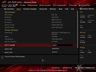 ASUS ROG CROSSHAIR VII HERO (Wi-Fi) 8. UEFI BIOS - Impostazioni generali 2