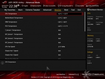 ASUS ROG CROSSHAIR VII HERO (Wi-Fi) 8. UEFI BIOS - Impostazioni generali 19
