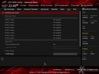 ASUS ROG CROSSHAIR VII HERO (Wi-Fi) 8. UEFI BIOS - Impostazioni generali 21