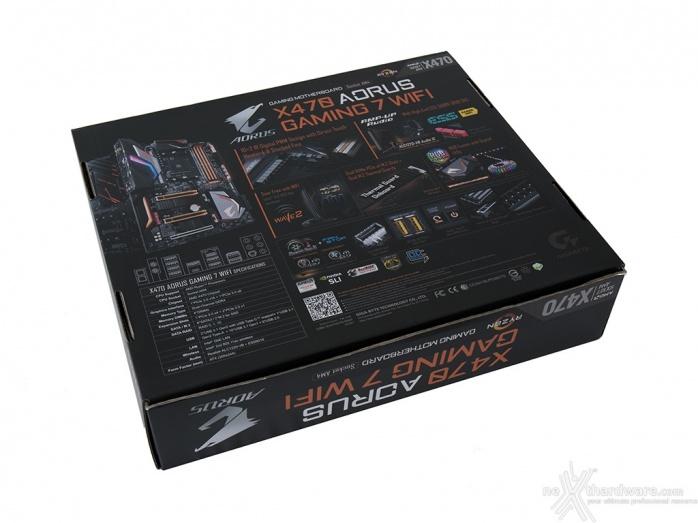 GIGABYTE X470 AORUS Gaming 7 WIFI 3. Packaging & Bundle 2