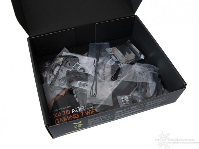 GIGABYTE X470 AORUS Gaming 7 WIFI 3. Packaging & Bundle 4