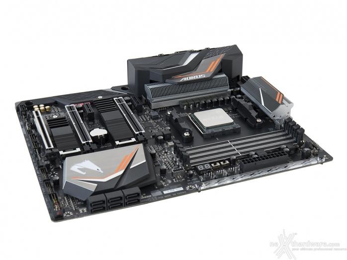 GIGABYTE X470 AORUS Gaming 7 WIFI 4. Vista da vicino 1