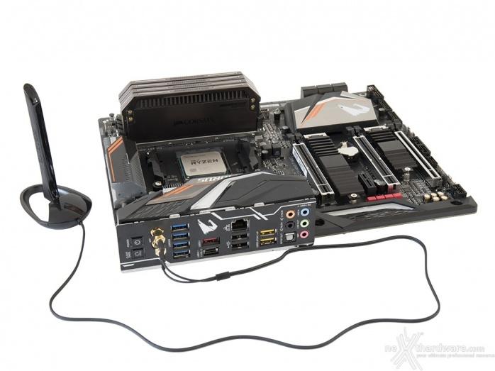 GIGABYTE X470 AORUS Gaming 7 WIFI 6. Connettività 8