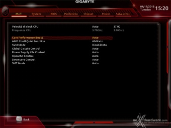 GIGABYTE X470 AORUS Gaming 7 WIFI 9. UEFI BIOS - M.I.T. 4