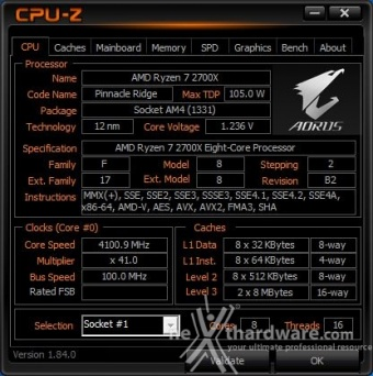 GIGABYTE X470 AORUS Gaming 7 WIFI 10. Metodologia di prova 2