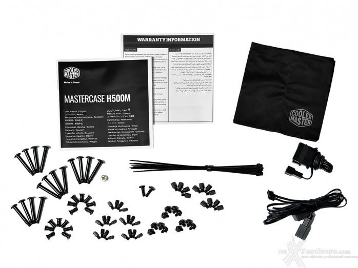 Cooler Master MasterCase H500M 1. Packaging & Bundle 3