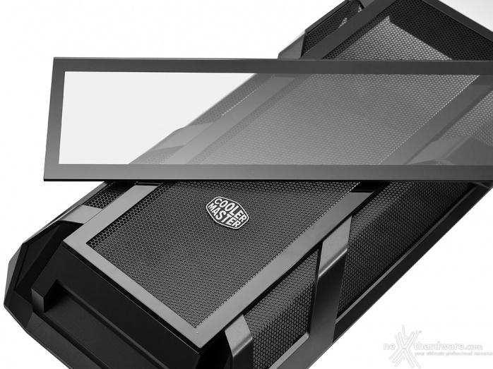 Cooler Master MasterCase H500M 2. Esterno - Parte prima 4