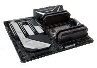 La mainboard ideale per sfruttare al massimo tutta la potenza del mostruoso Threadripper 2990WX.