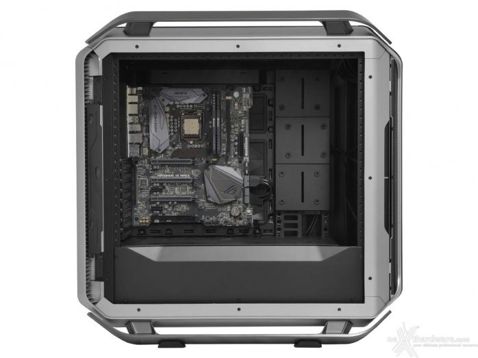 Cooler Master COSMOS C700M 8. Installazione componenti 1