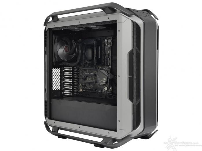 Cooler Master COSMOS C700M 8. Installazione componenti 2
