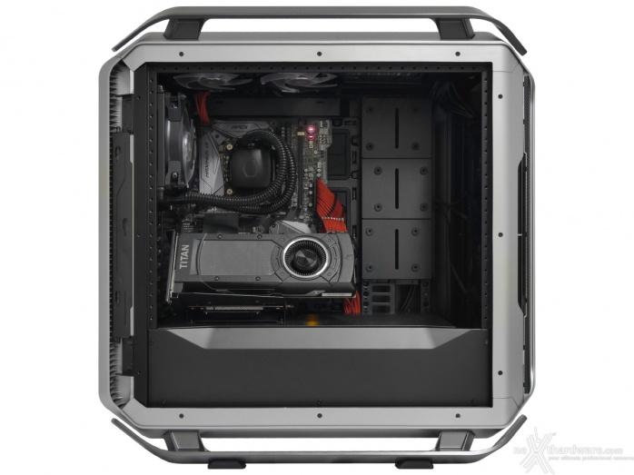 Cooler Master COSMOS C700M 8. Installazione componenti 7