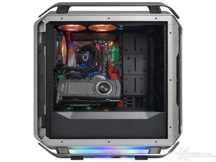 Cooler Master COSMOS C700M 8. Installazione componenti 8