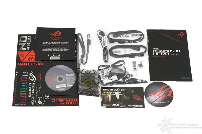 ASUS ROG MAXIMUS XI HERO (WI-FI) 2. Packaging & Bundle 7