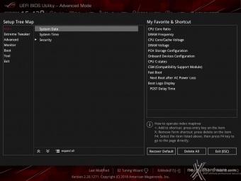 ASUS ROG MAXIMUS XI HERO (WI-FI) 7. UEFI BIOS  -  Impostazioni generali 4