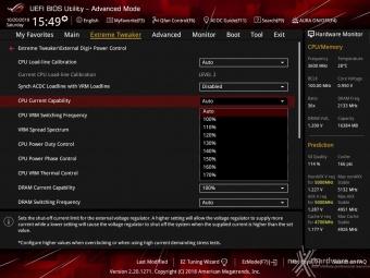 ASUS ROG MAXIMUS XI HERO (WI-FI) 8. UEFI BIOS - Extreme Tweaker 12