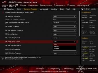 ASUS ROG MAXIMUS XI HERO (WI-FI) 8. UEFI BIOS - Extreme Tweaker 13