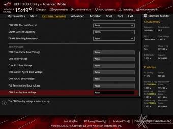ASUS ROG MAXIMUS XI HERO (WI-FI) 8. UEFI BIOS - Extreme Tweaker 14