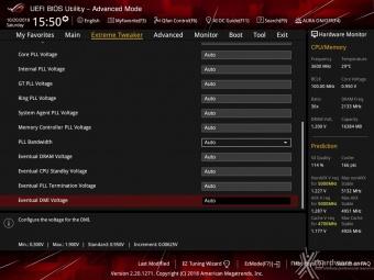 ASUS ROG MAXIMUS XI HERO (WI-FI) 8. UEFI BIOS - Extreme Tweaker 16