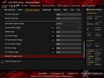 ASUS ROG MAXIMUS XI HERO (WI-FI) 8. UEFI BIOS - Extreme Tweaker 10