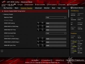 ASUS ROG MAXIMUS XI HERO (WI-FI) 8. UEFI BIOS - Extreme Tweaker 19