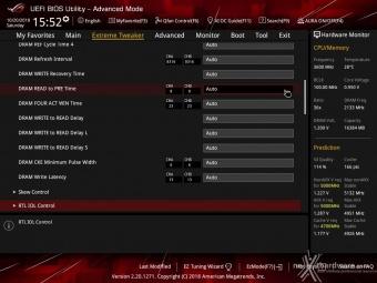 ASUS ROG MAXIMUS XI HERO (WI-FI) 8. UEFI BIOS - Extreme Tweaker 20