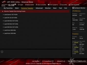 ASUS ROG MAXIMUS XI HERO (WI-FI) 8. UEFI BIOS - Extreme Tweaker 2